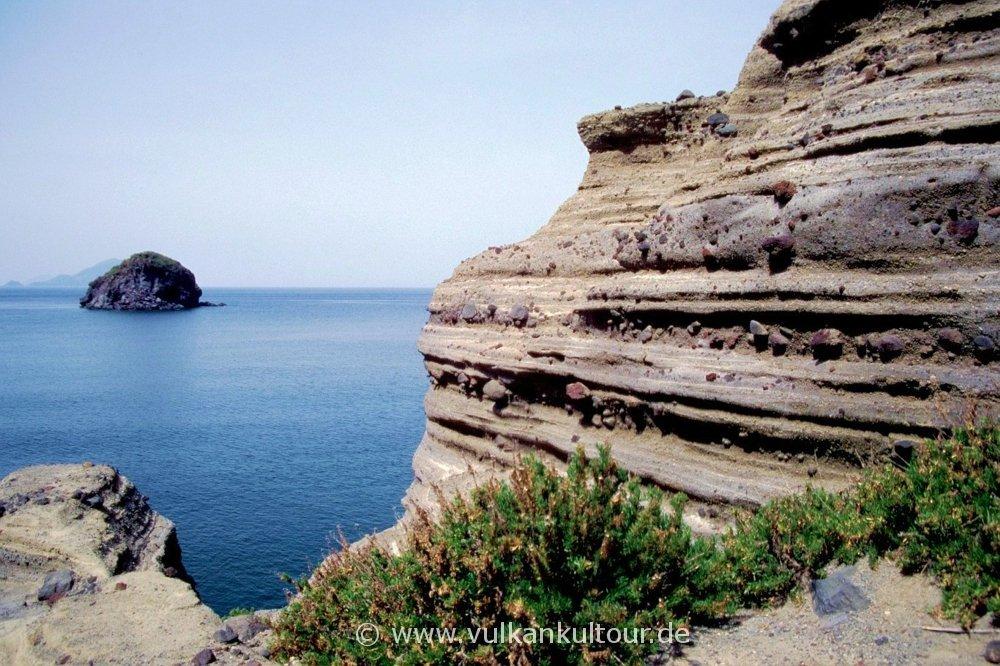 Salina - Bucht bei Pollara