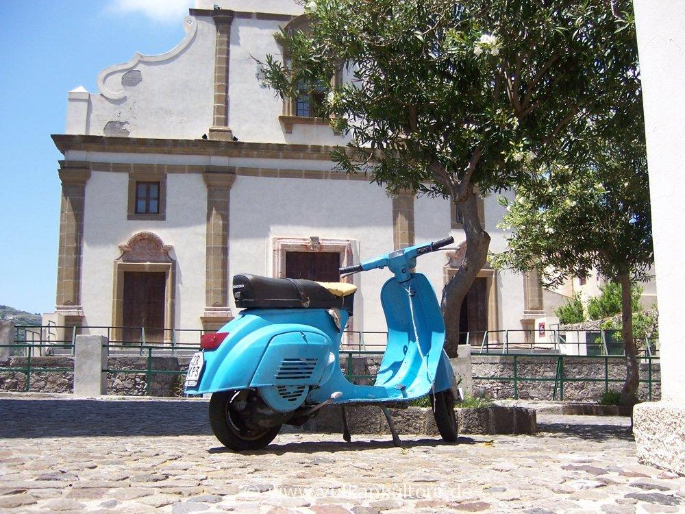 Auf dem Castello von Lipari