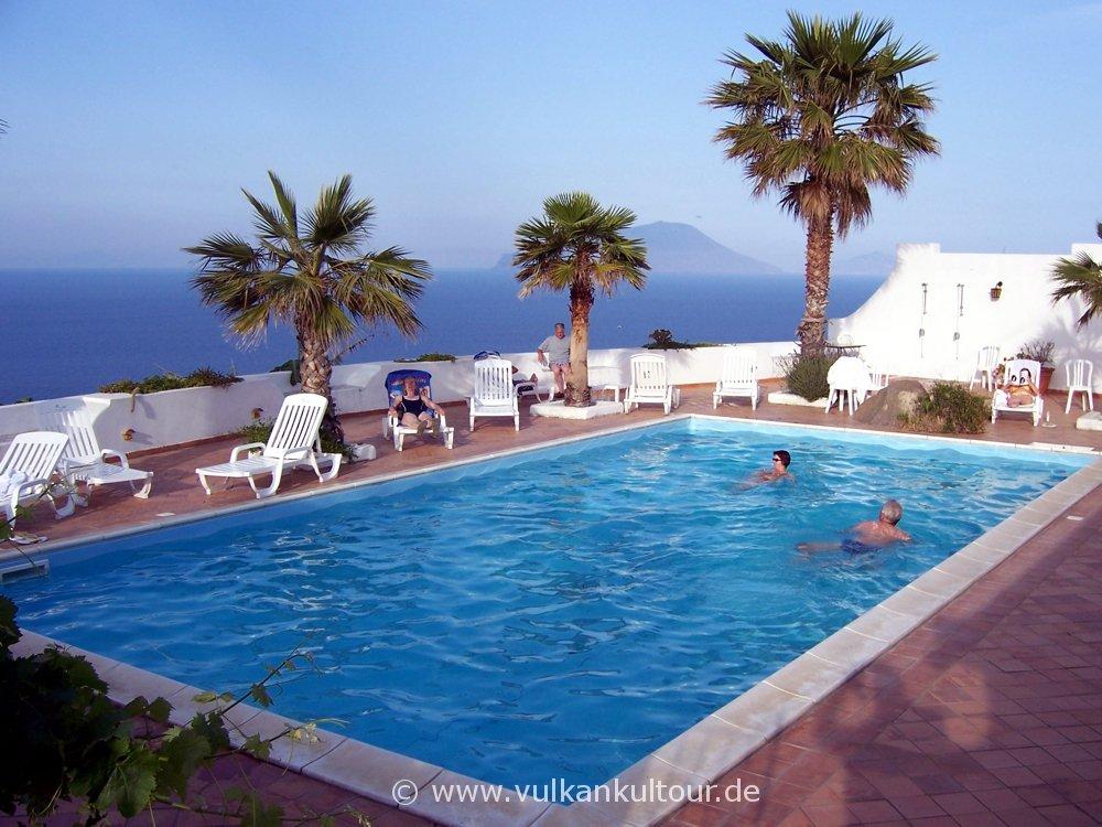 Unser Hotel auf Filicudi