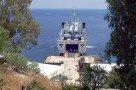 Alicudi Hafen