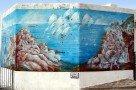 Salina - Wandgemälde in Malfa