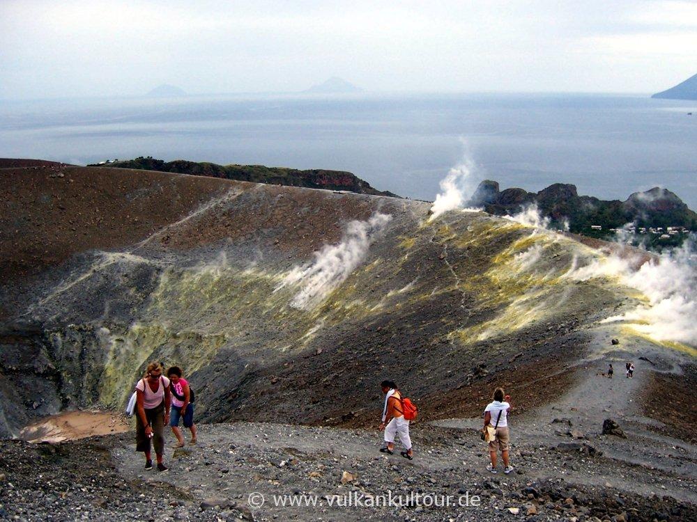 Zum höchsten Punkt des Gran Cratere