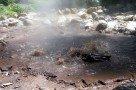 Heiße Quelle am am Vulkan Fogo (São Miguel)