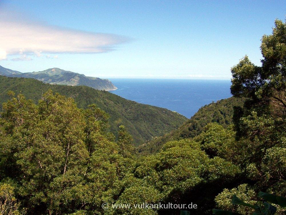 Wanderung nach Ribeira Quente
