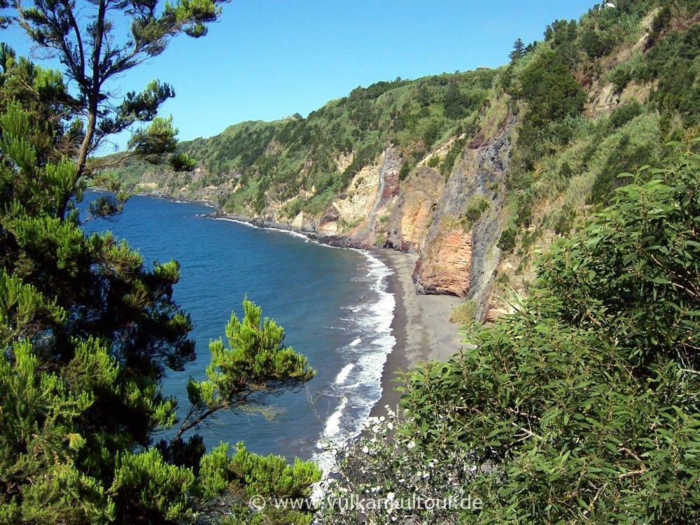 Steilküste von São Miguel