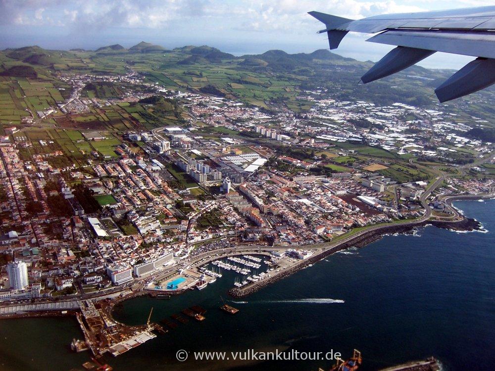 Abschied von Ponta Delgada
