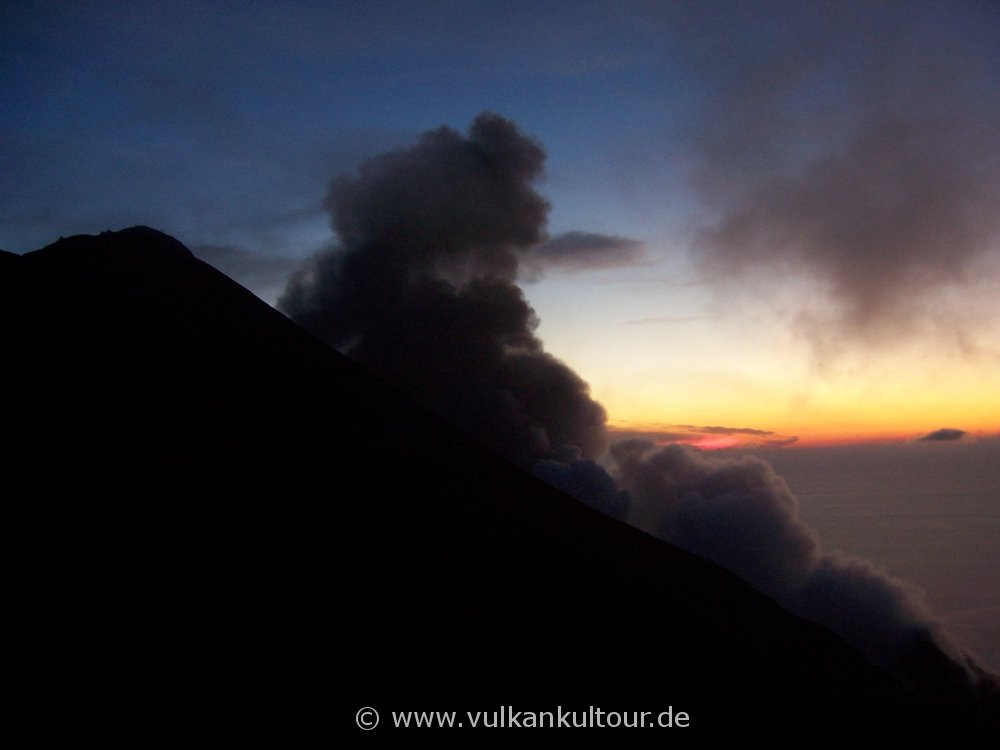 Stromboli - Kurz vor dem Gipfel