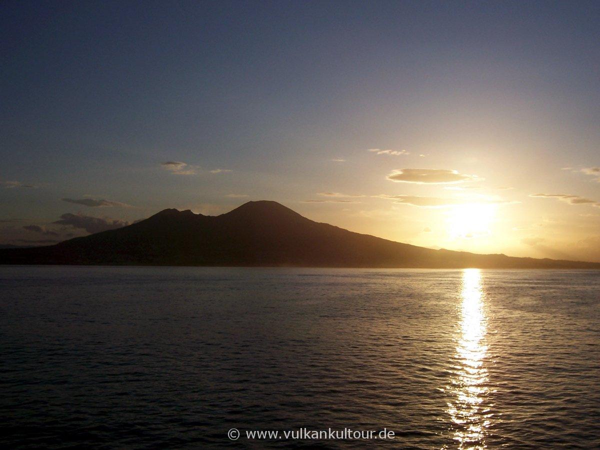 Morgendliche Ankunft zurück in Neapel