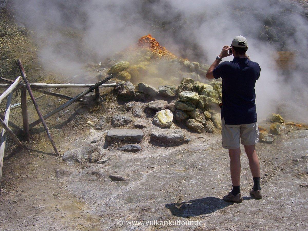 Vulkan Solfatara / Phlegräische Felder