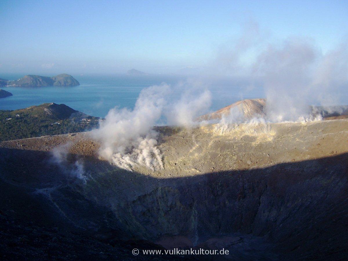 Der Gran Cratere von Vulcano