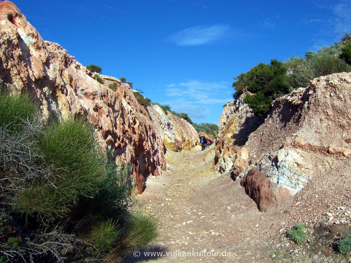 Cave di caolino auf Lipari