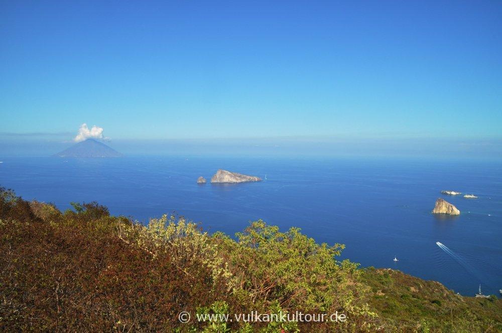 Panarea, Blick vom Punta del Corvo
