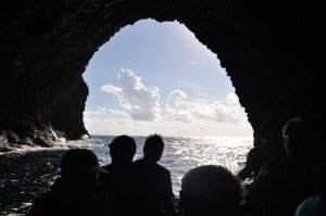 Inselrundfahrt Filicudi - Grotta del bue marino