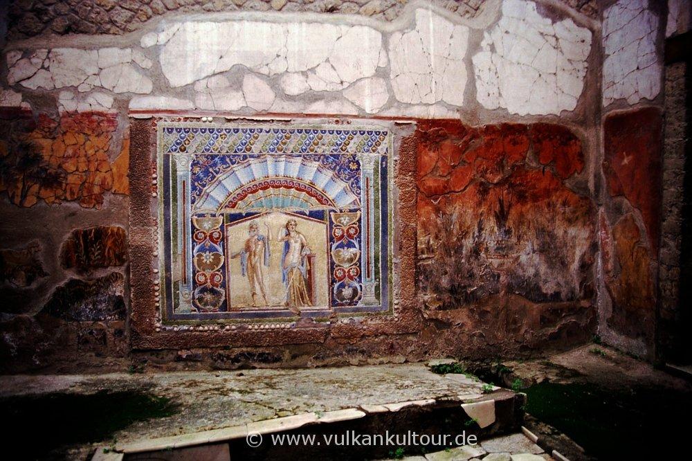 Herkulaneum - Mosaik Neptun und Anfitrite