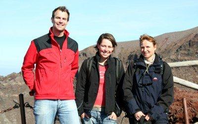 Kleine Reisegruppe am Vesuv (© Julia Lauberger)