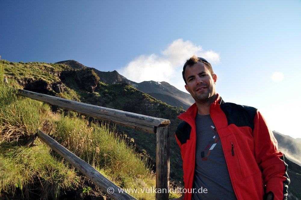 Florian an der Sciara del Fuoco (anno 2011)