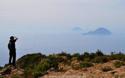 Salina - auf dem Monte Fossa delle Felci - der höchste Gipfel des Äolischen Archipels
