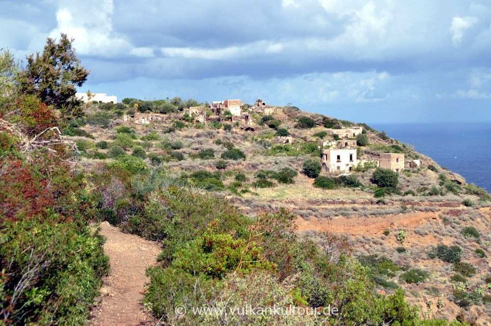 Filicudi - Verlassenes Dorf Zucco Grande