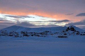 Hverfjall am Mývatn (Nordisland)