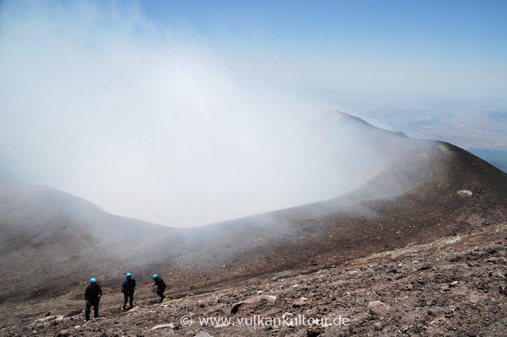 Gipfelkrater Voragine Grande