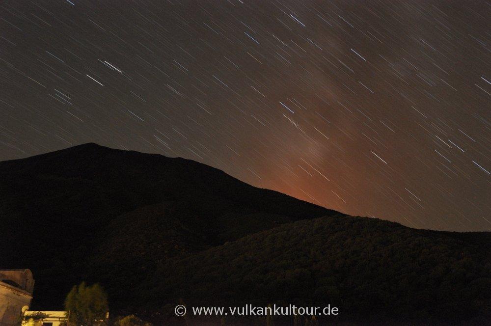 Sternenhimmel über Stromboli
