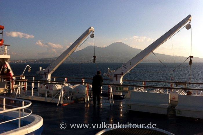 Ankunft im Golf von Neapel