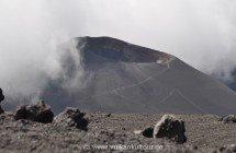 Ätna - Cratere Laghetto (Eruption 2001)