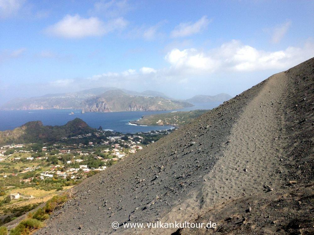 Vulcano - Aufstieg auf den Gran Cratere