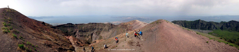 Vesuv Krater Panorama