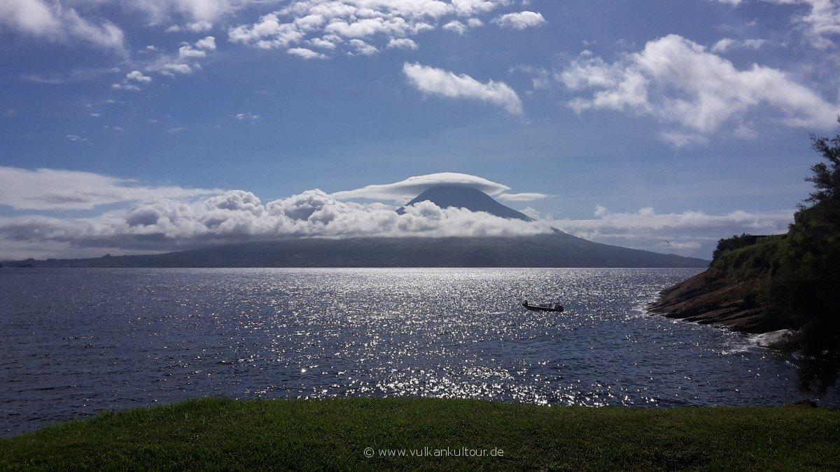 20160811 Azoren Blick von Faial auf Pico