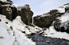 Versteckter Wasserfall abseits der Touristenmassen (wird nicht verraten wo)