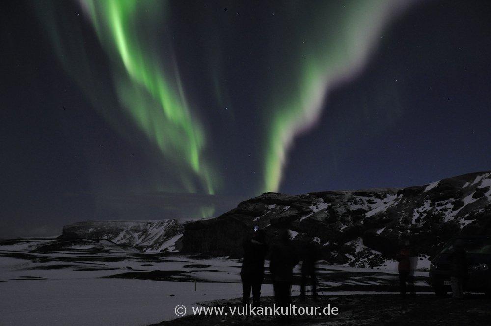 Aurora Borealis bei Vík