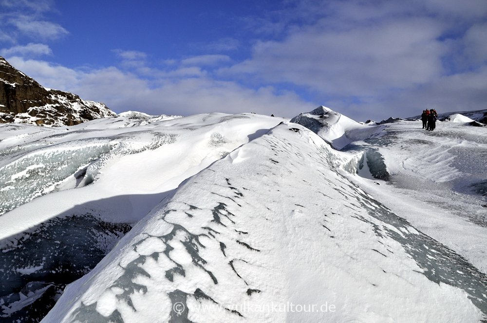 Auf dem Sólheimajökull