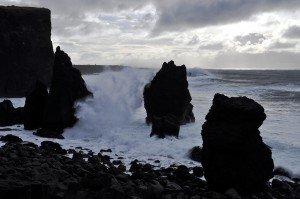 Am Ende der Reykjanes-Halbinsel