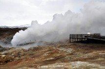 Heiße Quelle Gunnuhver