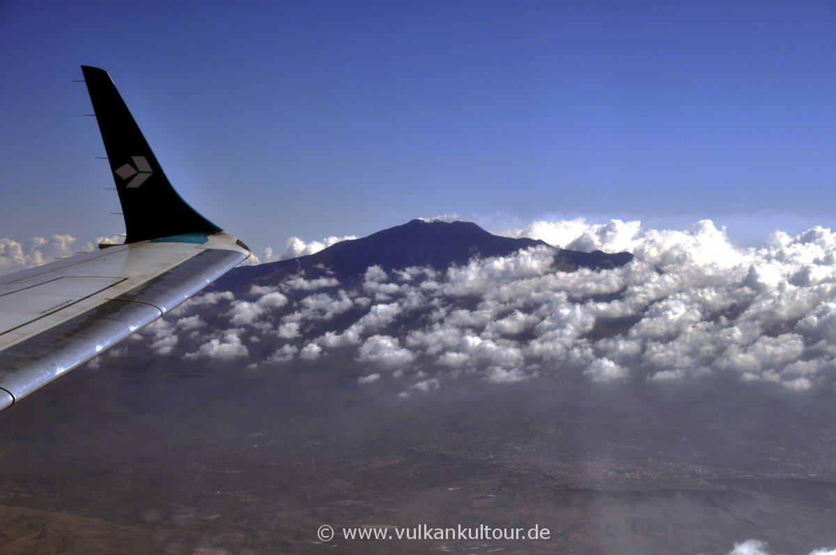 Landeanflug auf Catania