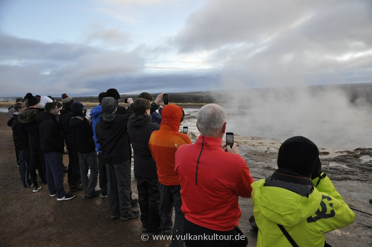 Gespanntes Warten auf die nächste Eruption