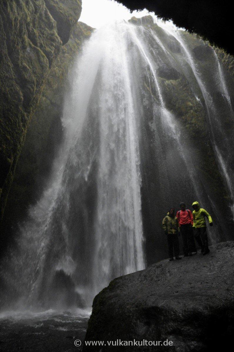 Wasserfall Gljúfrabúi