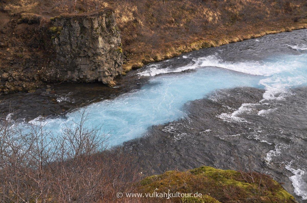 Magische Farben am Brúárfoss