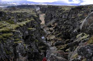 Almannagjá - kontinentaler Grabenbruch zwischen Eurasien und Nordamerika (Þingvellir)