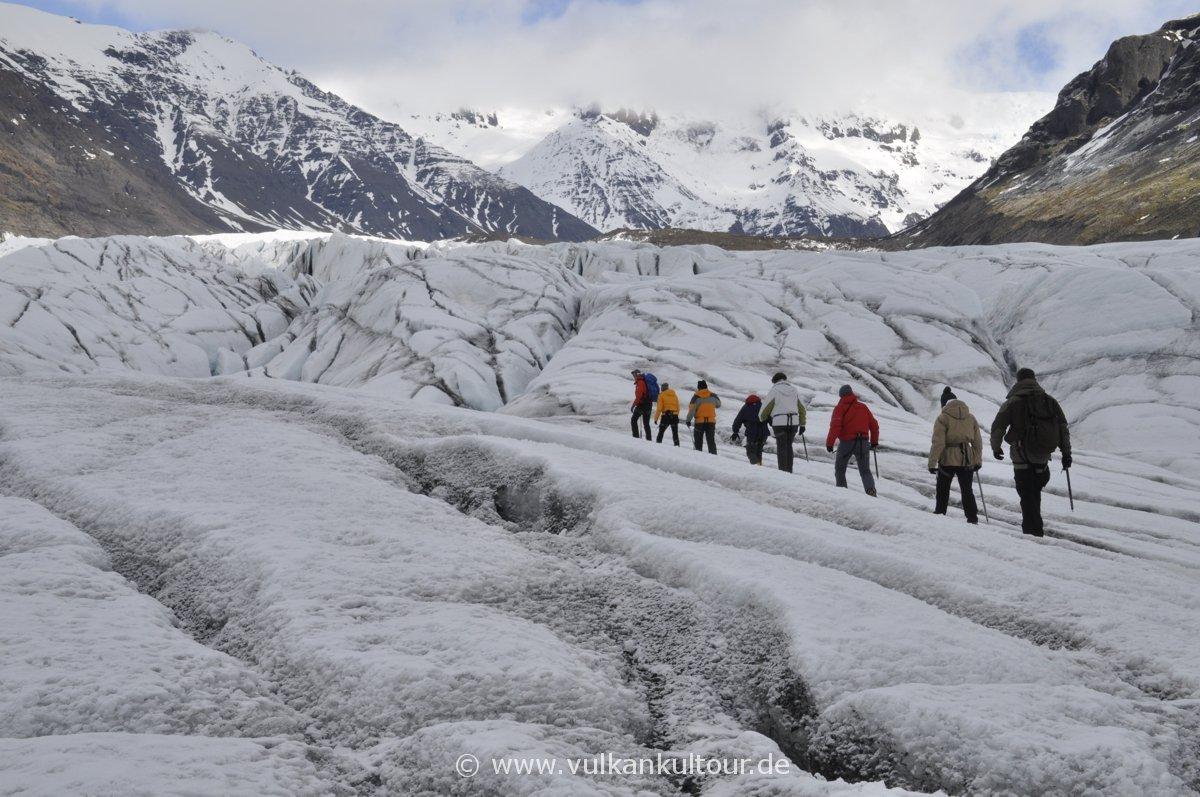 Gletscherwanderung auf dem Svínafellsjökull