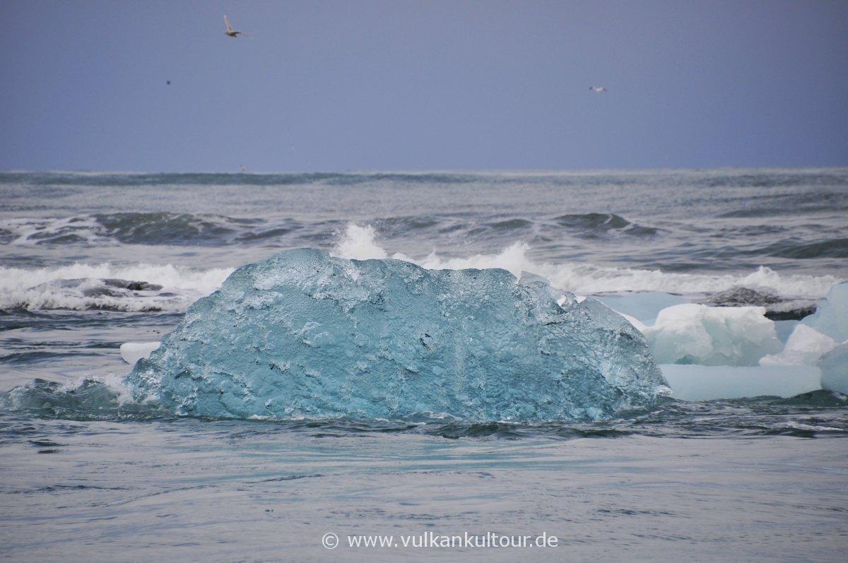Eis gegen Wasser
