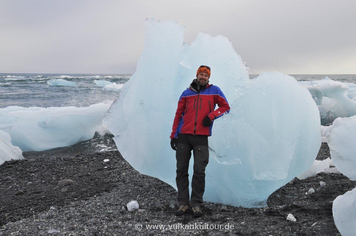 An der Gletscherlagune Jökulsárlón