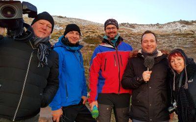 Mit dem MDR in Island