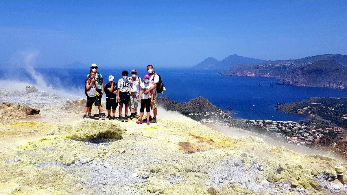 Kinder-Vulkanreise Stromboli/Vulcano 2018