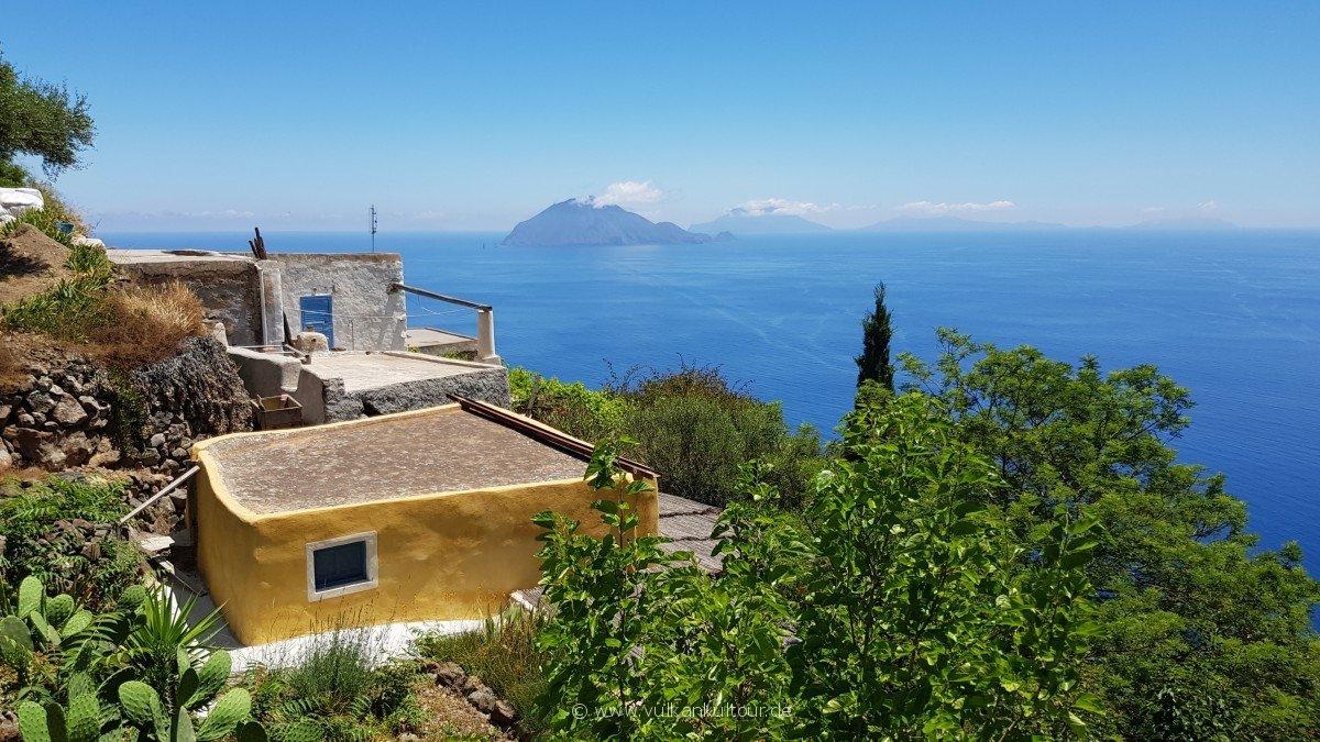 Verwunschene Häuser auf Alicudi