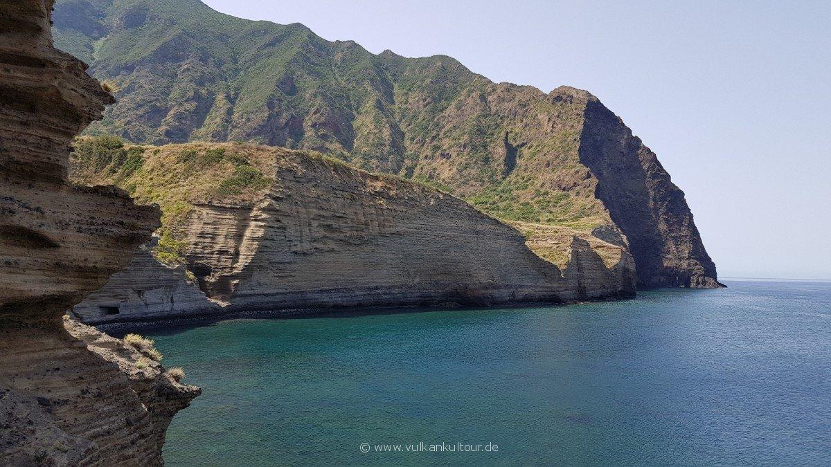 Bucht von Pollara - was für eine Szereie!