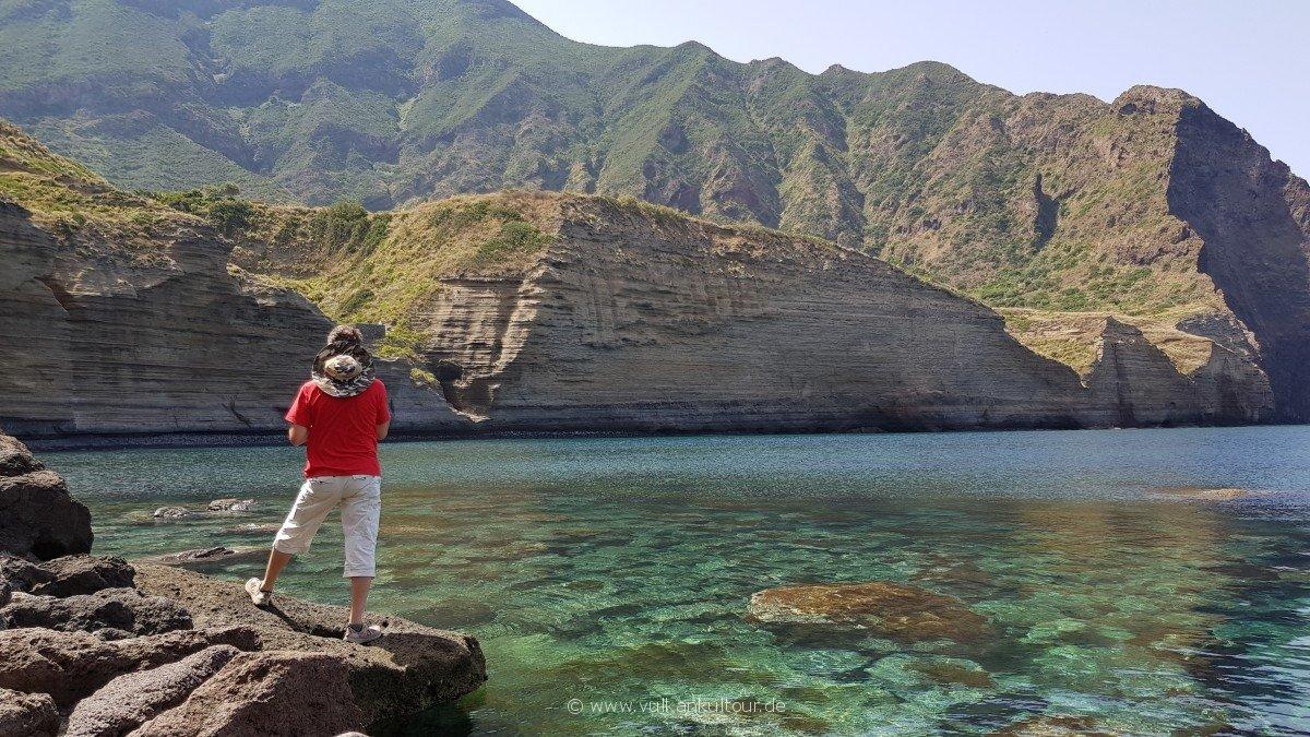 Bucht von Pollara - Landschaft pur!