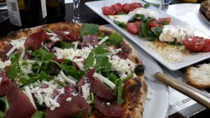 Milazzo - wohlverdiente Pizza