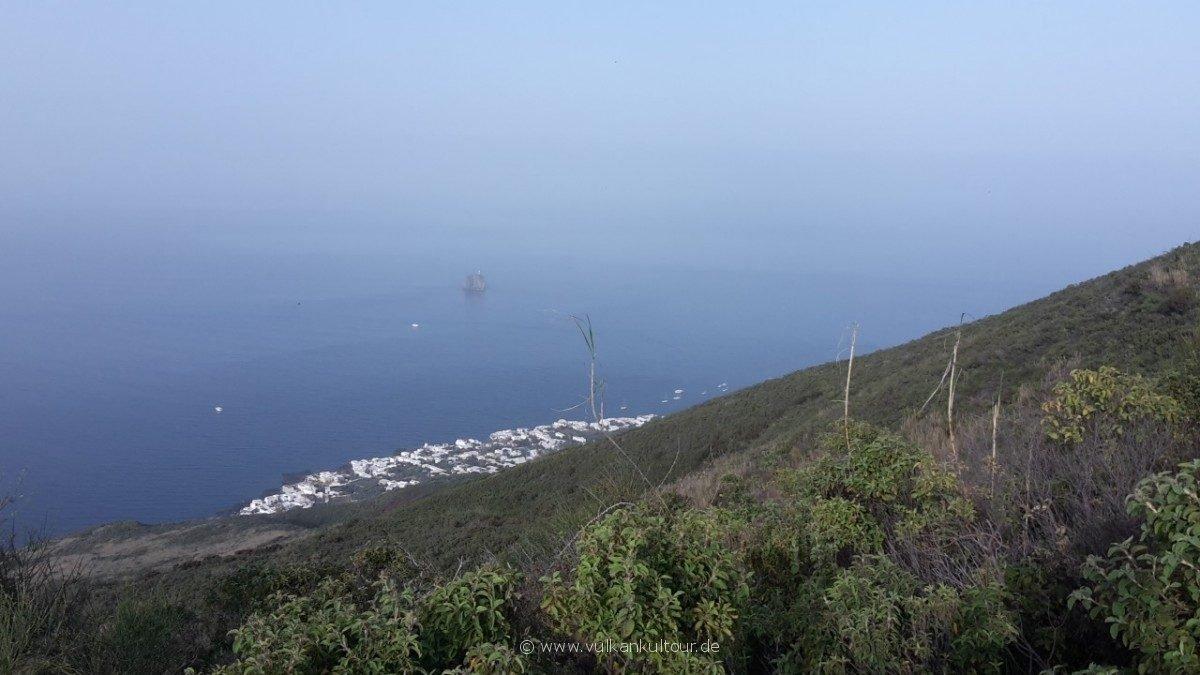 Stromboli - der Ort wird immer kleiner...